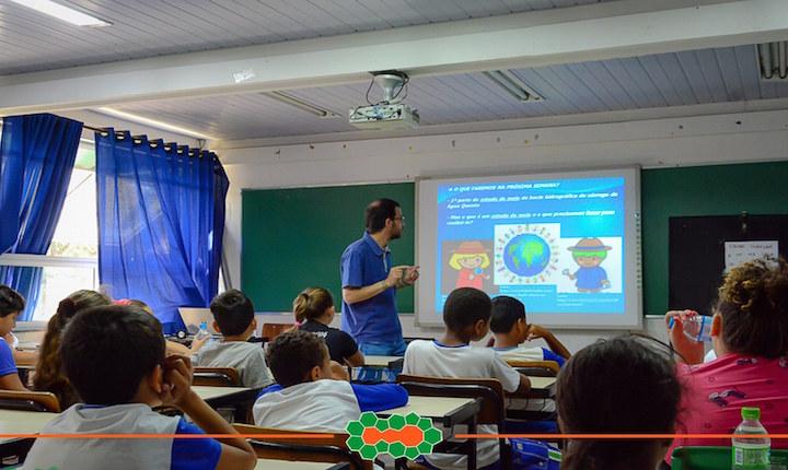 Primeira Atividade do Programa de Educação Ambiental PLURIVERCIDADE