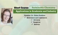 CERSusChem oferecerá curso na UFSCar sobre aplicações da química sustentável no meio acadêmico e na indústria