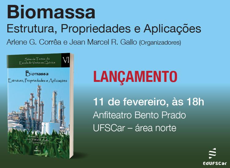 """""""Biomassa: Estrutura, Propriedades e Aplicações"""" book release event"""