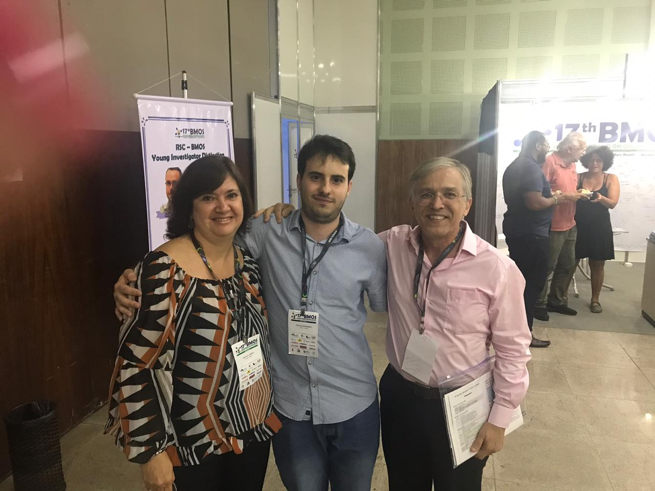CERSusChem researchers attended the 17th Brazilian Meeting on Organic Synthesis