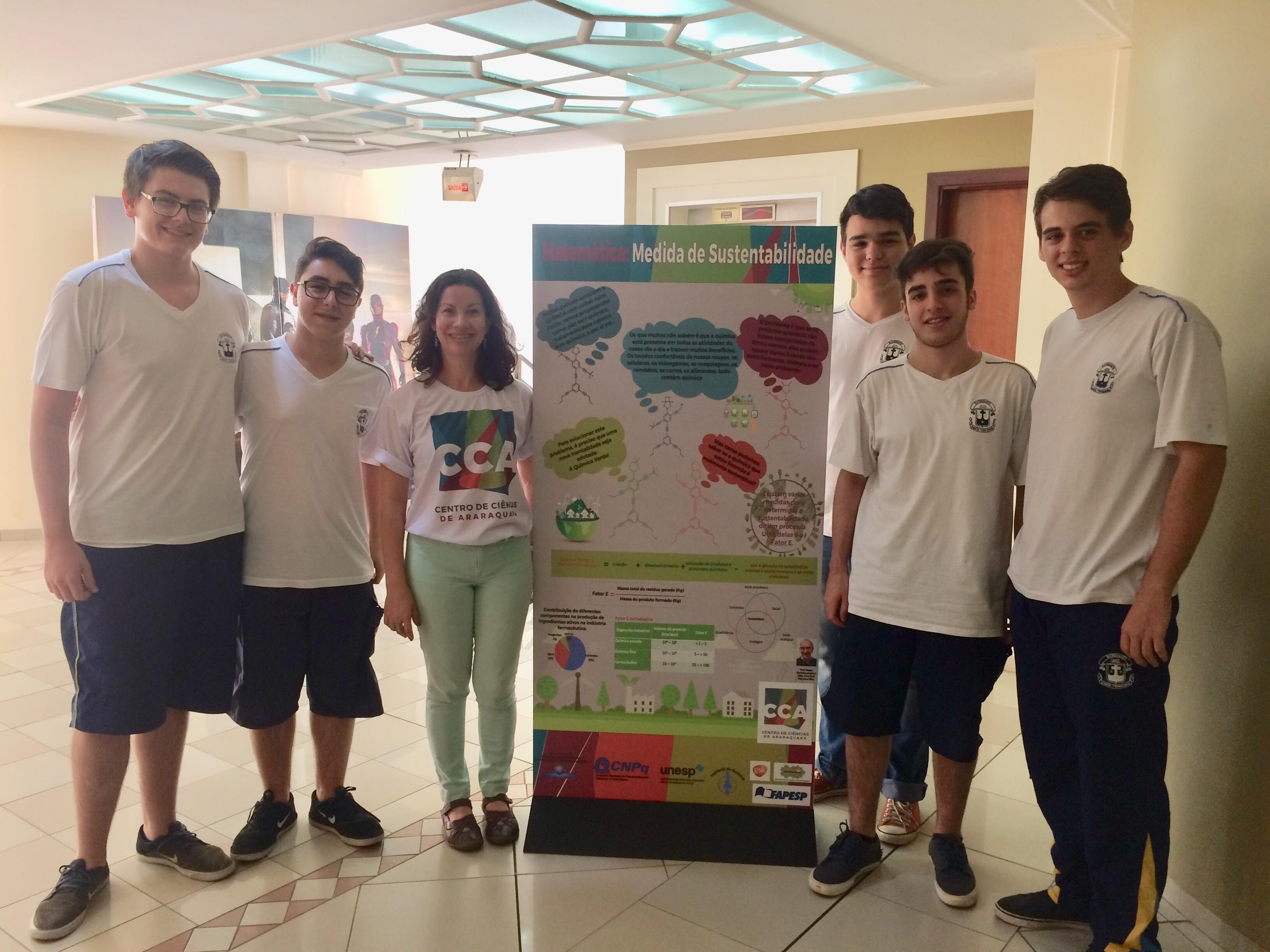 CerSusChem was present at the SNCT in Araraquara revering Mathematics!