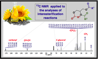 Comparison of the regiospecific distribution from triacylglycerols after chemical and enzymatic interesterification of high oleic sunflower oil and fully hydrogenated high oleic sunflower oil blend by carbon-13 nuclear magnetic resonance