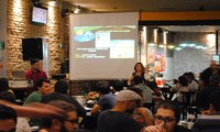 """Lecture - Renewable Energies and Green Chemistry - at the Pint of Science in Araraquara - 05/16 at """"Quintal do Carmo"""" bar"""