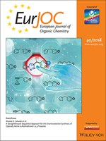 Publication from CERSusChem researchers is on the front cover of EurJOC