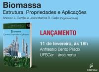 """Lançamento do livro """"Biomassa: Estrutura, Propriedades e Aplicações"""""""
