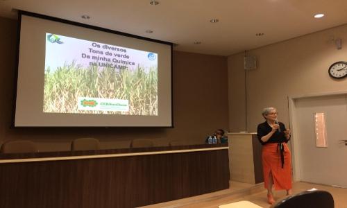 Palestra – Os diversos tons de verde da minha Química na UNICAMP – 47a Semana da Química do IQ-UNESP – 18/09/2017, Instituto de Química, Araraquara