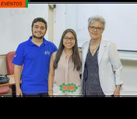 Professora Anita Marsaioli apresenta minicurso durante a XVI Semana da Química UFSCar