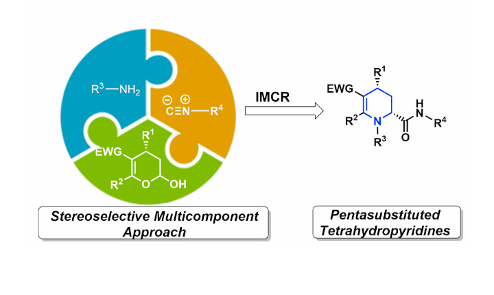 A Stereoselective Sequential Organocascade and Multicomponent Approach for the Preparation of Tetrahydropyridines and Chimeric Derivatives